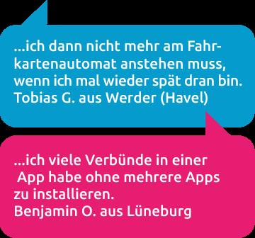 Kundenstimmen HandyTicket Deutschland